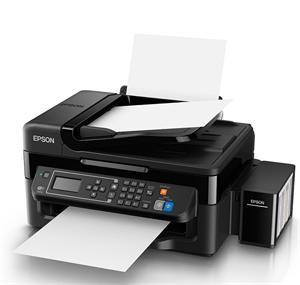 Epson L565/MFZ /ADF/ Fax/ LCD, A4, 5760x1440dpi,4 int.tankový systém náplní, 33/15 černě/barevně /LAN/Wifi/USB