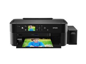 Epson L850/MFZ /ADF/ LCD, A4, 5760x1440dpi,6 int.tank. s. náplní, 33/15 černě/barevně /čtečka/Potisk DVD/foto/USB