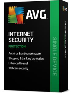 AVG Internet Security 2016, 7 lic. (2 roky) SN Email