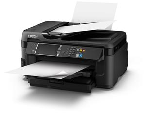 EPSON WorkForce WF-7610 DWF MFZ+Fax,A3, 32/20stran, 4ink, USB/ADF/ NET/ Duplex, WIFI