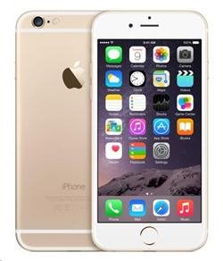 Mobilní telefon Apple iPhone 6 128GB - zlatý