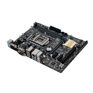 ASUS H110M-C 1151/H110,VGA,DVI,COM,Gbe,PCI-e 3.0/16,PCI,4xSATA3,4xUSB3.0,2xDDR4/2133,mATX