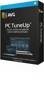 Prodloužení AVG PC TuneUp 1 lic. (2 roky) LN Email