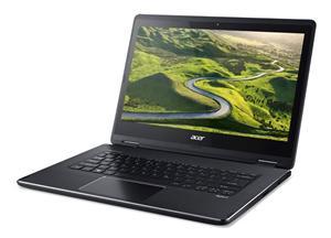 "ACER Aspire R 14 (R5-471T-54EK) Ci5-6200U/4GB/128GB SSD/14""FHD Touch LED/USB3.0/WF/BT/Cam/W10, Black"