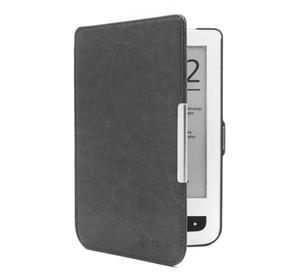 Pouzdro pro Pocketbook 614 / 624 / 626, hardcover, PBC-03, černé