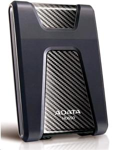 """ADATA HD650 1TB Externí HDD 2.5"""", USB 3.0, gumový nárazu odolný, černý"""