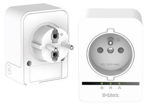 D-LINK DHP-509AV/FR, Powerline 500Mb, Passthrough (průchozí) Starter Kit (2x P509AV/FR)