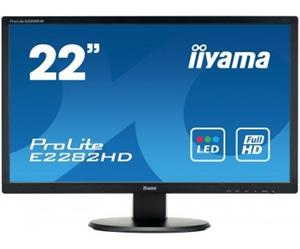 """21.5"""" Iiyama LCD LED ProLite E2282HD-B1 1920x1080 FHD,5ms,VGA,DVI,černá"""