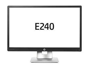"24"" wide LCD LED IPS HP EliteDisplay E240, 1920x1080, HDMI, DP1.2, VGA, USB2.0 HUB (x2)"
