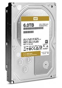 WD GOLD RE WD6002FRYZ 6TB SATA/600 7200 RPM, 128MB cache