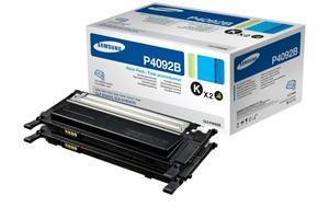 Samsung TwinPack CLT-P4092B (2ks CLT-K4092S) toner černý pro CLP-310/310N/315, CLX3170FN/3175FN - 2x1500 str.
