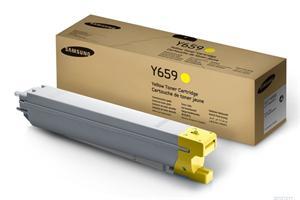 Samsung toner žlutý CLT-Y659S pro CLX-8640ND/8650ND - 20 000 str.