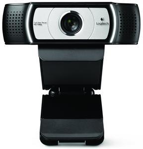 Logitech FullHD Webcam C930e, 1920 x 1080, s optikou Carl Zeiss, stereo mikrofon, USB