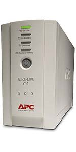 APC Back UPS CS 500VA(300W) USB+RS232