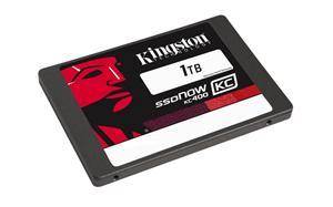 """Kingston SATA3 2.5"""" SSD disk 1TB SSDNow KC400, čtení 550MB/s, zápis 530MB/s, výška7mm, Upgrade bundle kit"""
