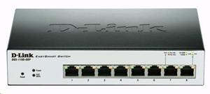 D-LINK DGS-1100-08P, 8-port PoE Gigabit EasySmart Switch
