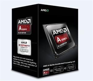 AMD A10-7860K-3.6GHz Godaveri (4core,4MB L2,GPU R7,socket FM2+,65W,28nm) BOX(quiet cooler), Black Edition