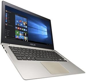 "ASUS UX303UA i3-6100U/8GB/500GB+8GB SSD/13.3"" FHD/Intel HD/MiniDP+HDMI/WL/BT/CAM/USB3.0/W10,hnědá"