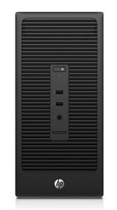 HP 280 G2 Microtower i3-6100/ 4GB/ 500GB/ DVDRW/ HD510/ VGA/ DVI-D/ USB3.0/ LAN/ DOS