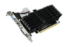GIGABYTE NVIDIA GeForce GT710/1GB DDR3,64bit,VGA,DVI-I,HDMI,PCIe 2.0,silent,low profile