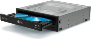 LG Blu-ray vypalovačka BH16NS55 16x BD±ROM/R, 16x DVD+/-RW, DL, SATA, bulk, černá