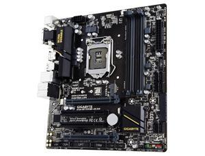 GIGABYTE B150M-D3H 1151/B150,VGA,DVI,HDMI,Gbe,2xPCI-e x16/4,6xSATA3,M.2 Sock,SATA Expr,6xUSB3.0,4xDDR4/2133,mATX