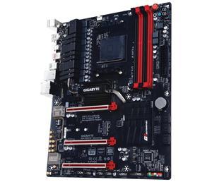 GIGABYTE 990FX-Gaming AM3+/AMD 990FX,Gbe,8CH,3xPCI-e 16/8x,6xSATA3/R,M.2 Sock 3,USB3.0 Type A+C,DDR/1866,ATX