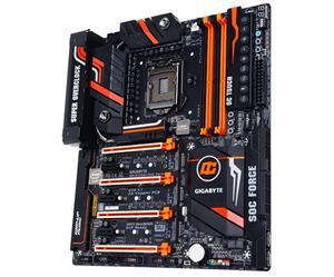 GIGABYTE Z170X-SOC FORCE 1151/Z170,DVI,HDMI,mDP,Gbe,4xPCI-e x16/8,8xSATA3/R,3xM.2 Soc3,3xSATA Expr,USB3.1,DDR4/3866,EATX