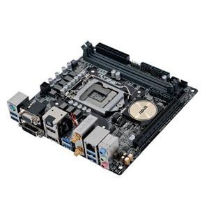 ASUS ASUS H170I-PLUS D3 1151/H170,WiFi+BT,VGA,DVI,HDMI,DP,Gbe,PCI-e 3.0 x16,4xSATA3,M.2 Soc3,8xUSB3.0,DDR3/1866,miniITX