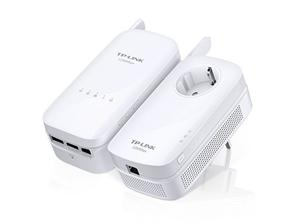 TP-LINK TL-WPA8630KIT Powerline Gigabit Starter Kit TL-PA8010P+TL-WPA8630, Wifi AC1200 Dual Band 2.4GHz/5GHz 300+867Mbps