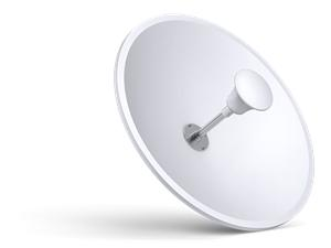 TP-LINK TL-ANT5830MD, 5 GHz wifi 2x2MIMO parabolická anténa 34dBi, outdoor, RP-SMA