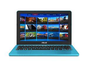 """ASUS E202SA DC Cel. N3050/4GB/500GB/11.6"""" LED/HDMI/WL/BT/CAM/USB3.1,W10,světle modrá"""