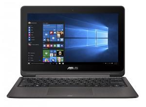 """ASUS TS201SA QC Cel. N3710/4GB/500GB/11.6"""" IPS Touch/HDMI/WL/BT/CAM/USB3.1,W10, šedá"""