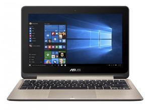 """ASUS TS201SA QC Cel. N3710/4GB/1TB/11.6"""" IPS Touch/HDMI/WL/BT/CAM/USB3.1,W10, zlatá"""