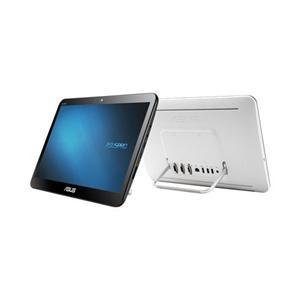 """ASUS AiO A4110 Cel. QC N3150/2GB/500GB/20"""" HD+ /DVD±RW/HDMI/WL/BT/Cam/USB3.0/bez OS,bílá"""