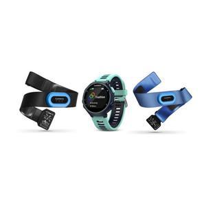 Garmin Forerunner 735XT Tri Bundle Blue, sportovní hodinky