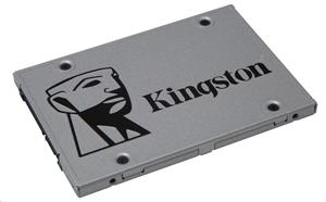 "Kingston SATA3 2.5"" SSD disk 120GB SSDNow UV400,SATA/600, čtení 550MB/s, zápis 350MB/s,výška7mm,Upgrade Kit+adapt"