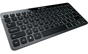 Logitech Bluetooth Illuminated Keyboard K810, pro Windows, Android a iOS, CZ
