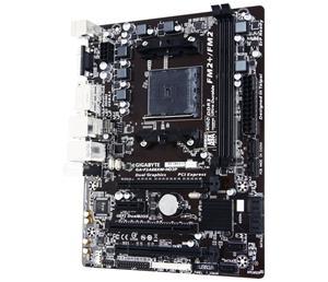 GIGABYTE F2A88XM-HD3P FM2+/A88X,VGA,DVI,HDMI,Gbe,8CH,2xPCI-e 16/4,8xSATA3/R,USB3.1,4xDDR3/2133,mATX