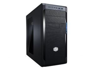 CoolerMaster case miditower series N300, ATX,black, USB3.0, bez zdroje, průhledná bočnice