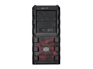 CoolerMaster case miditower HAF 912 Advanced, ATX, USB3.0, bez zdroje, průhledná bočnice, black