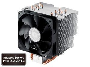 Chladič CPU Coolermaster Hyper 612 Ver.2,socket 2011/1366/1156/1155/1150/775/AM2/AM3/FM1/FM2 silent