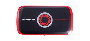 AVERMEDIA Live Gamer Portable Lite USB, nahrávací/streamovací zařízení