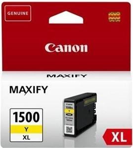 Canon inkoustová cartridge Yellow PGI-1500XL Y pro MAXIFY MB2050/MB2350