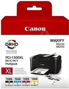 Canon inkoustová cartridge PGI-1500XL BK/C/M/Y (multipack) pro MAXIFY MB2050/MB2350