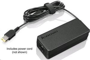 Lenovo adapter, ThinkPad 65W AC Adapter (slim tip) - EU