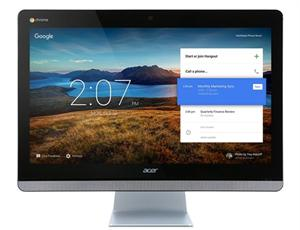 "Acer Aspire CA24I AiO 23.8"" FHD Touch, CDC 3215U/4GB/16GB/WF/BT/Cam/Repro/Chrome OS,KB+Mouse/USB"