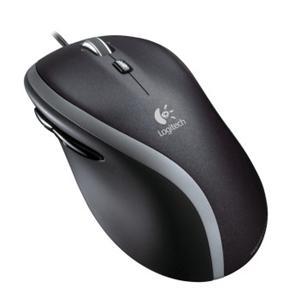 Logitech Mouse M500/ Drátová/ laserová/ 1000dpi/ rychlé rolování/ USB/ černá