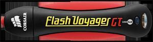 256GB Flash Disk USB 3.0 Corsair Flash Voyager GT, 220/130MB/s, gumový, voděodolný