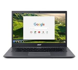 "ACER Chromebook 14 (CP5-471-C2SU) CDC 3855U/4GB/32GB/14""HD LED/HDMI/USB3.0/WF/Cam/Google Chrome OS, Black/Grey"
